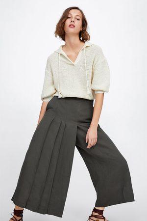 l'atteggiamento migliore 0c38e 13eeb Pantaloni larghi a pieghe