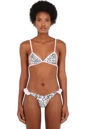 """JUST SAUCED Top Bikini """"mimi"""" Leopard"""