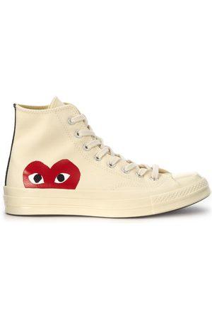 Comme des Garçons Sneakers - Sneaker x Converse alte in canvas