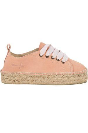 MANEBI Sneaker espadrilla Hamptons in suede e iuta