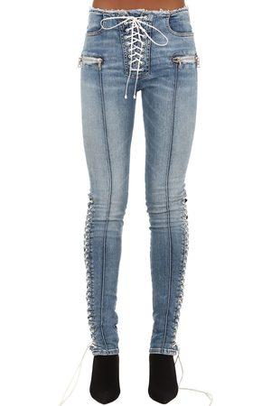 UNRAVEL Jeans Skinny In Denim Di Misto Cotone