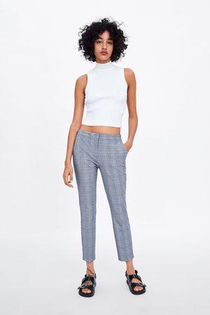 Zara Pantaloni jogger waist a quadri