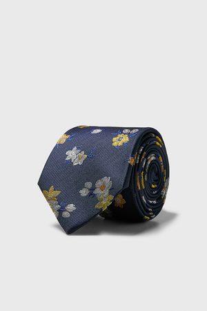 Zara Cravatta larga a fiori