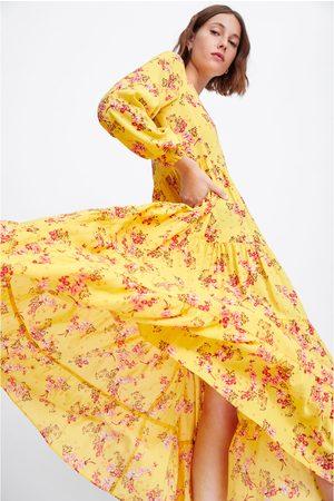 Zara Vestito con stampa floreale