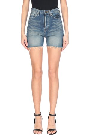 SAINT LAURENT Donna Pantaloncini - JEANS - Shorts jeans