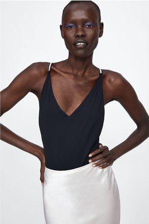 Zara Donna Bikini - Costume spalline gioiello