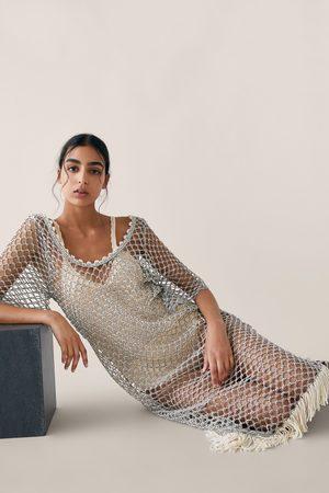 Zara Tunica in maglia struttura brillante