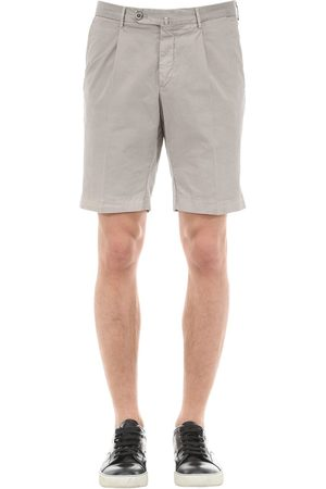 GTA Uomo Pantaloncini - Shorts In Gabardina Di Cotone Stretch