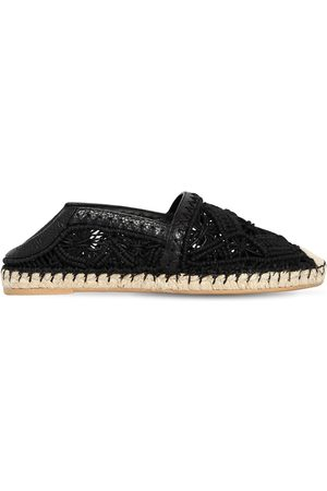 "Valentino Espadrilles ""marrakech"" In Macramé 10mm"
