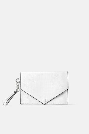 Zara Borsa clutch con stampa animalier