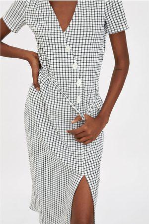Zara Vestito a quadri