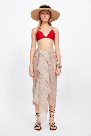 Zara Top bikini con conchiglie