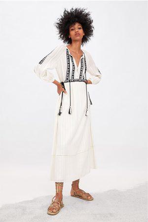Zara Embroidered dress