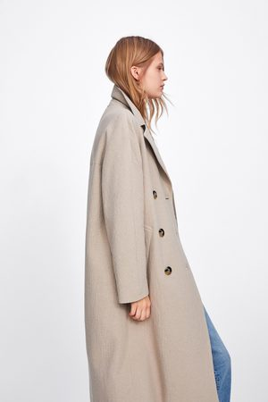 Zara Cappotto lungo incrociato