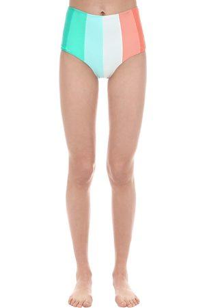 """PAPER LONDON Slip Bikini Vita Alta """"sunshine"""""""