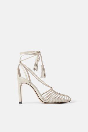 Zara Sandali tacco jelly shoe