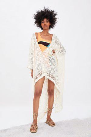 Zara Kimono struttura frange