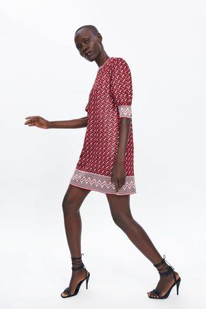 Zara Abito mini jacquard