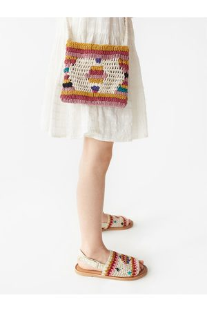 Zara Borsa a tracolla crochet multicolore