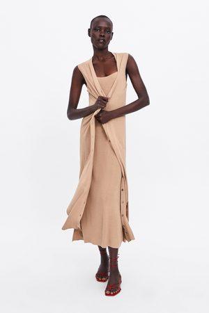 Zara Gilet lungo maglia