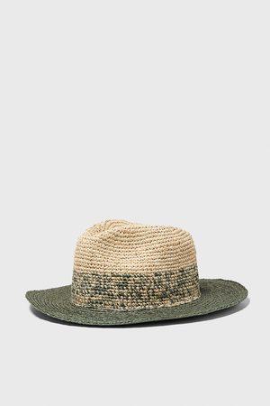 Zara Cappello strutturato bicolore