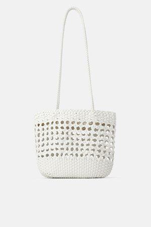 Zara Borsa shopper intrecciata