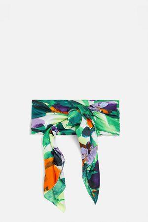 Zara Foulard stampato