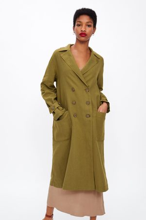 Zara Oversized buttoned trench coat