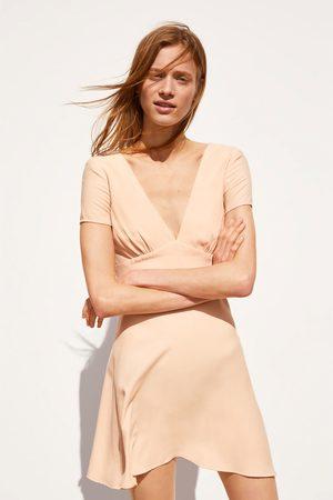 Zara Vestito a pieghe