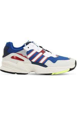 "adidas Donna Sneakers - Sneakers ""yung 96"" In Rete E Eco Camoscio"