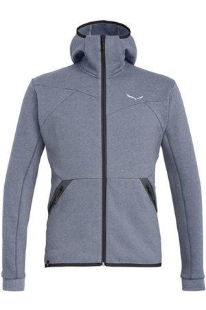 Salewa Uomo Giacche di pile - Solid Logo Dry - giacca in pile con cappuccio - uomo. Taglia 50