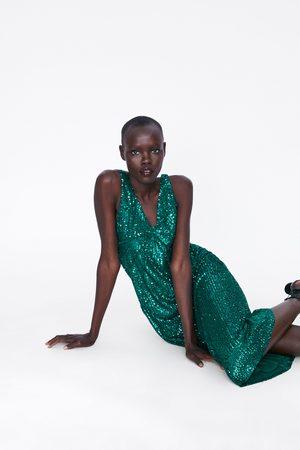 Zara Vestito paillettes tagli