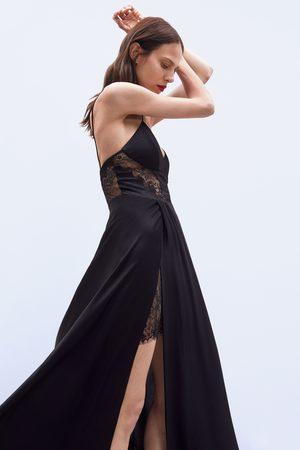 Zara Vestito lungo pizzo edizione limitata