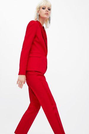 Zara Blazer stile smoking con revers abbinato