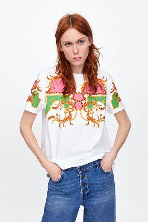 Zara Maglietta con stampa anteriore