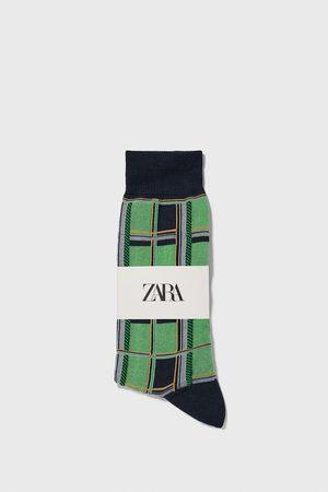 Zara Calzini cotone mercerizzato a quadri