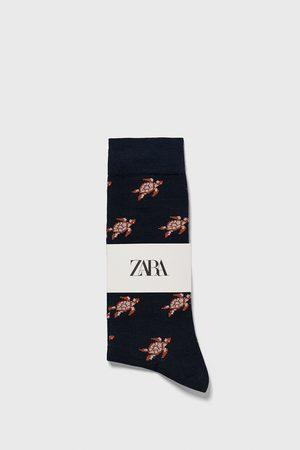 Zara Calzini jacquard tartarughe