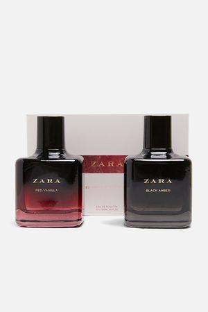 Zara RED VANILLA EAU DE TOILETTE 100ML + BLACK AMBER EAU DE TOILETTE 100ML
