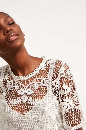 Zara Vestito con uncinetto