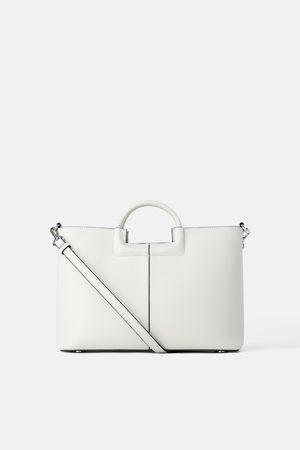 Zara City bag manico intrecciato