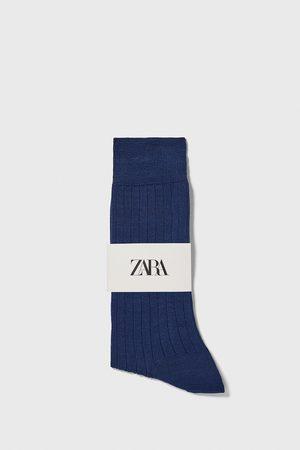 Zara Calzini a costine cotone mercerizzato premium
