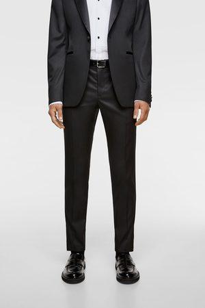 b73d44b30dfc Uomo  Abiti eleganti  Zara. Zara Pantaloni abito smoking