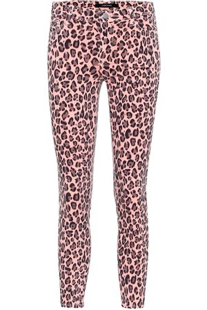 J Brand Jeans skinny 853 a stampa leopardo