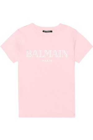 Balmain T-shirt in cotone con stampa