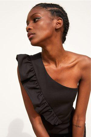 Zara Vestito tuta dal design asimmetrico