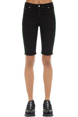 Represent Shorts In Denim Di Misto Cotone
