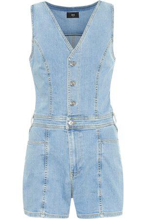 3x1 Donna Tute e salopette - Jumpsuit di jeans corta Albany
