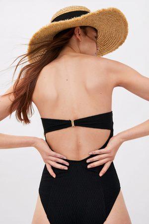 Zara Costume a fascia texture