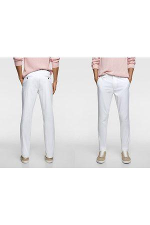 Zara Pantaloni chino slim fit