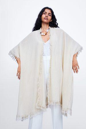 Zara Kimono lungo frange